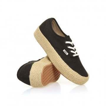 Vans Authentic Platform Shoes Black
