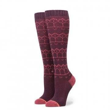 Stance Ladies Inca Inca Socks Plum