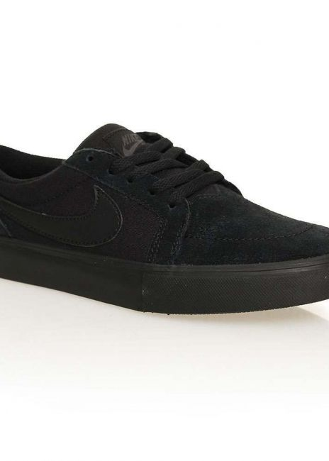 gancho Despedida Inolvidable  Nike SB Boys Satire II Shoes Black/Black