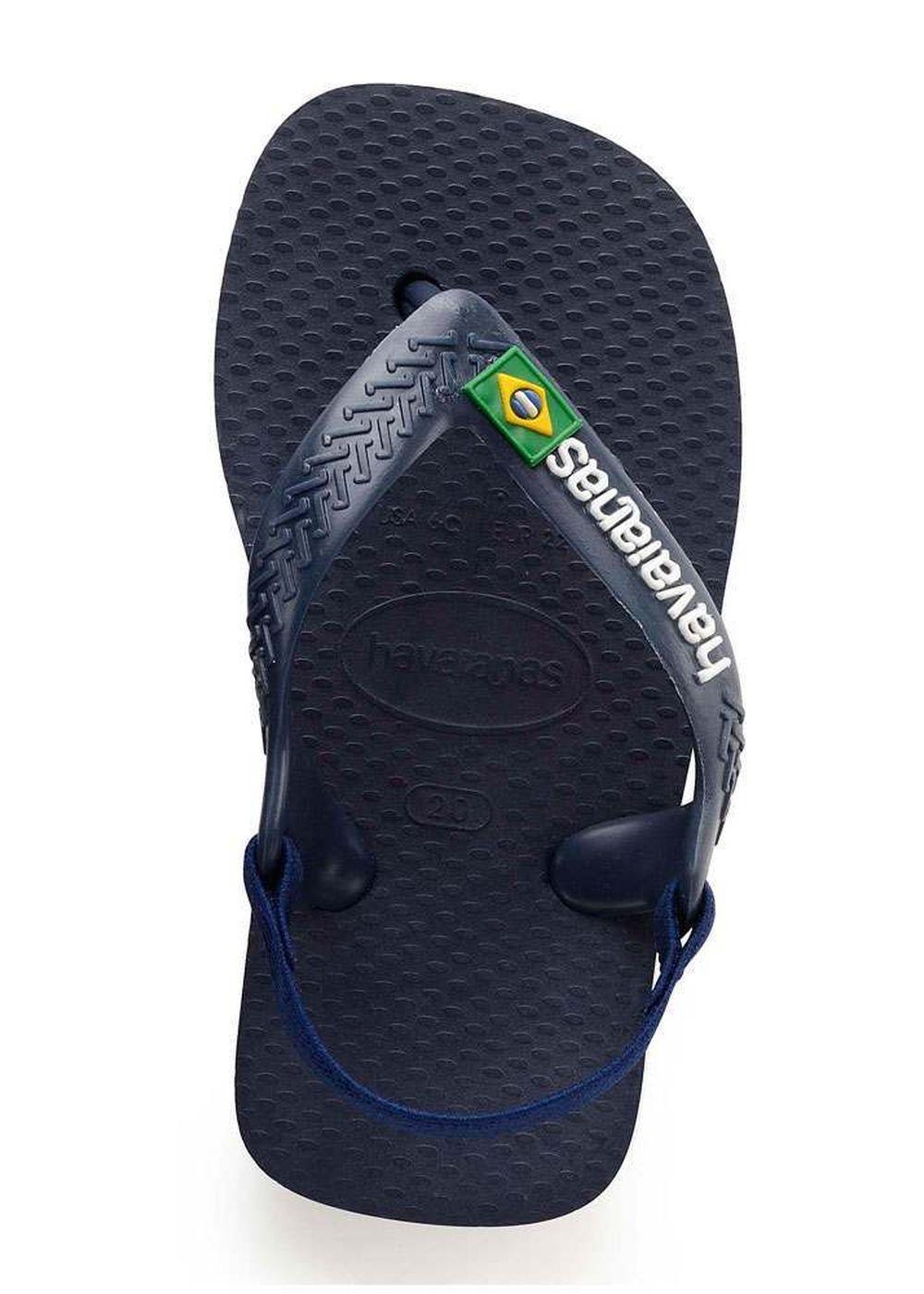 Havaianas Baby Brasil Logo Sandals Blue