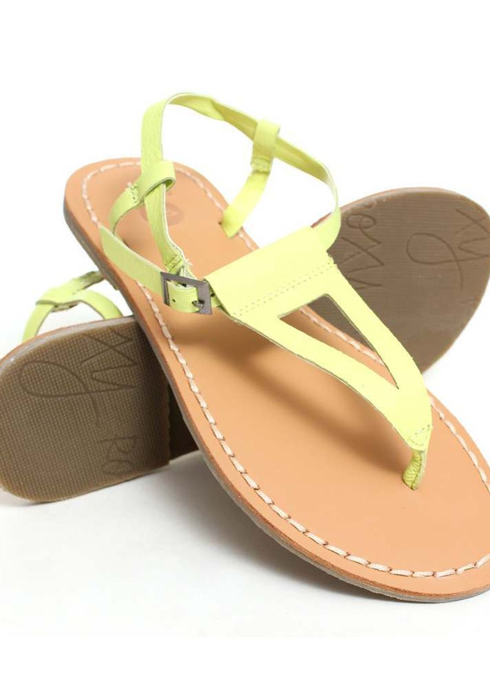 ROXY NYMPH SANDALS Lime
